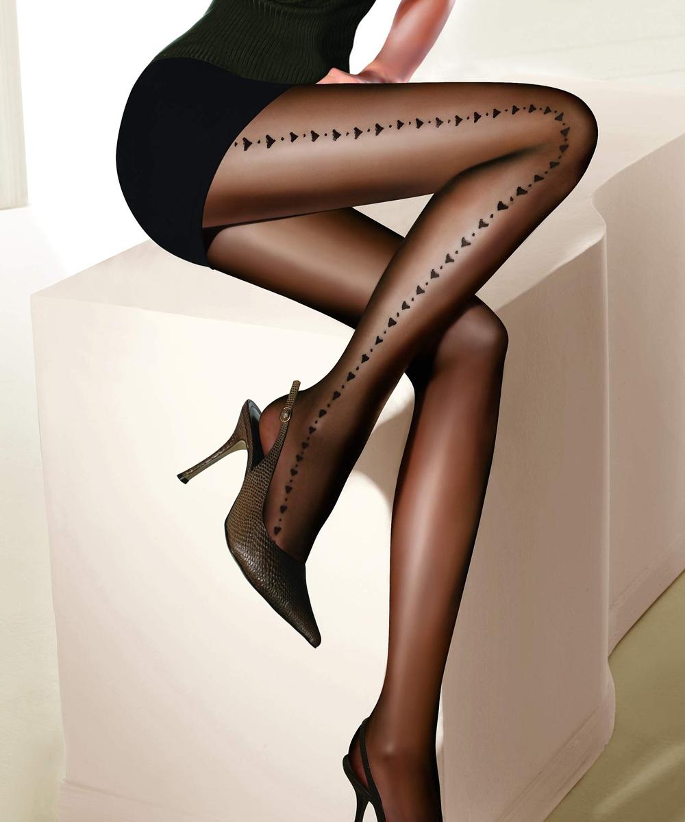 Фото женщины черный колготках 18 фотография